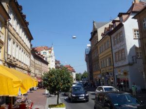Halteverbotszone in der Langen Straße