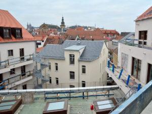 Eroeffnung Quatier an den Stadtmauern