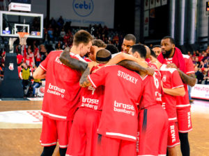 easyCredit BBL 18/19 - 21. Spieltag: Brose Bamberg vs. FRAPORT SKYLINERS