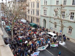 Klimaschutz-Demo in Bamberg