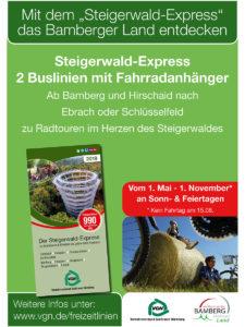 Freizeitlinie Steigerwald