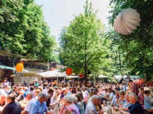 Das Bier der Bamberger Brauerei Mahr wird ab sofort auch auf dem Entlas-Keller ausgeschenkt