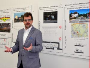Ausstellung Bahnausbau