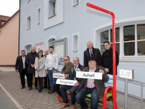Mitfahrbänke im Landkreis Bamberg