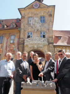 Altes Rathaus Bamberg - Ein Stadtmodell aus dem Metall-3D-Drucker