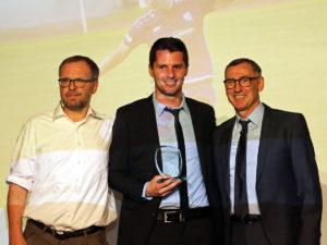 Auszeichnung für FCE-Spieler Nicolas Görtler