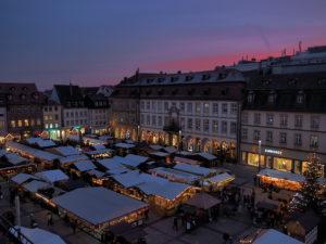 Weihnachtsmarkt 2016 auf dem Bamberger Maxplatz (Archivbild)