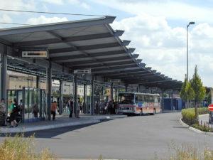 Busbahnhof in Amberg