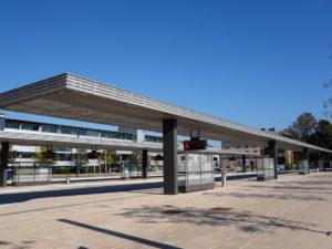 Regionaler Omnibusbahnhof in Rosenheim