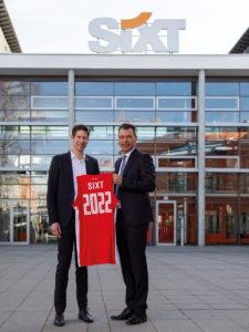 SIXT und Brose Bamberg verlängern bestehende Partnerschaft