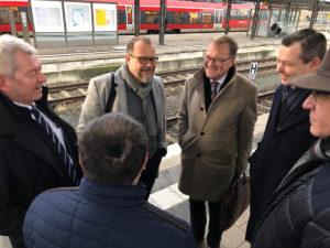 Bamberger Delegation diskutiert im Bundeswirtschaftsministerium die gegenwärtige Lage der Automobilzuliefererindustrie