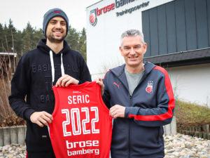 Brose Bamberg und Mateo Seric verlängern Vertrag bis 2022