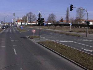 Großbaustelle im Bamberger Süden, Kreuzung Münchner/Berliner Ring