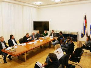 Pressekonferenz zum Coronavirus in der Region Bamberg