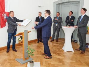 Stadt verabschiedet Dr. Christian Lange vom Amt des Zweiten Bürgermeisters