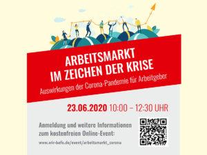 Webkonferenz Arbeitsmarkt