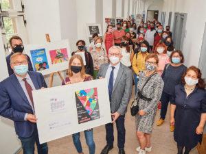 Preisverleihung zum Schülerwettbewerb zu den Internationalen Wochen gegen Rassismus
