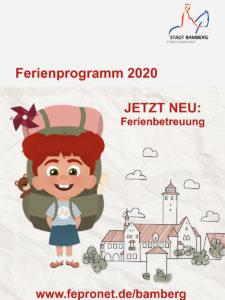 Plakat Bamberger Ferienprogramm