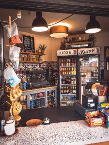 """Kiosk """"Kunni"""" am Adenauerufer in Bamberg"""