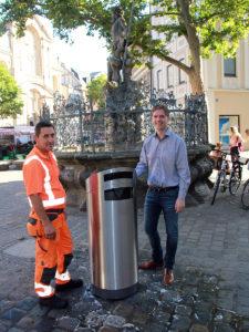 Entsorgungs- und Baubetrieb (EBB) geht gegen Müll vor