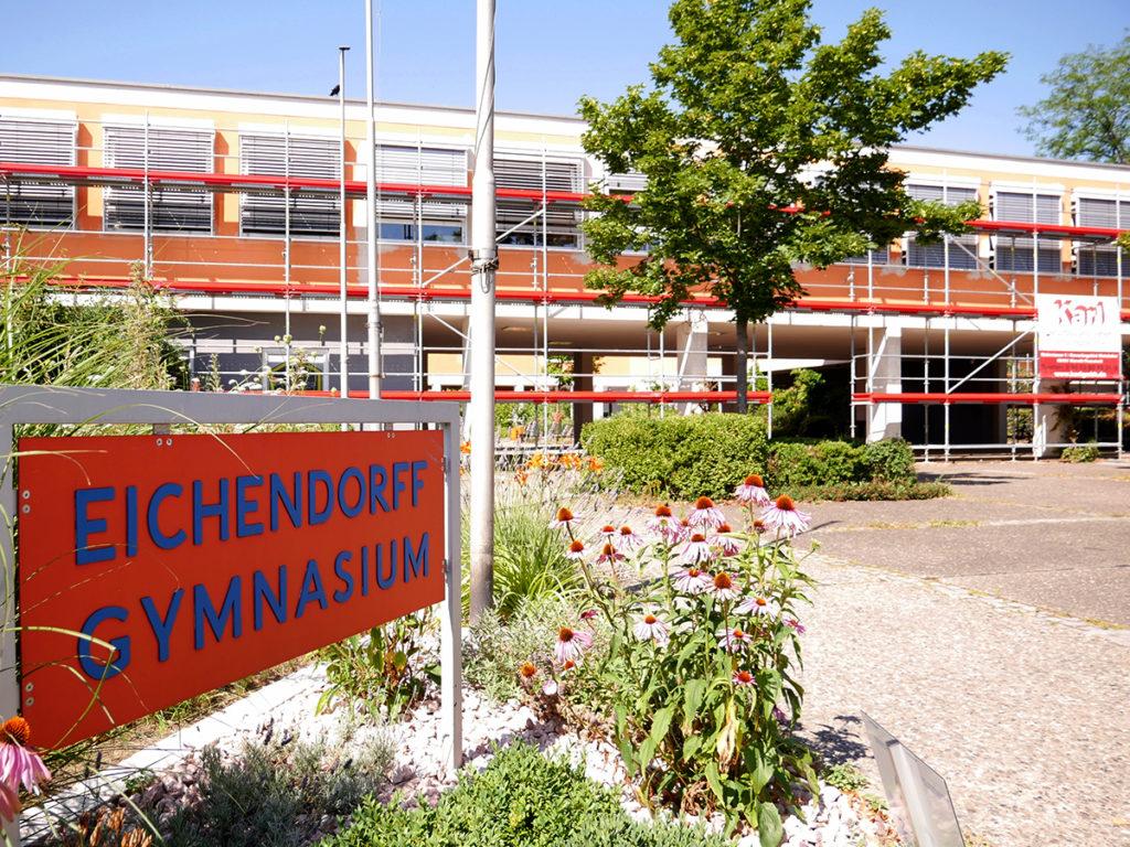 Eichendorfgymnasium anstrich