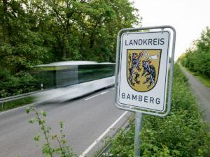 Landkreis Schild Verkehr