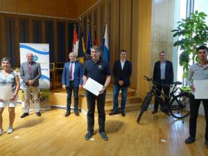 """Auszeichnung der Gewinnerinnen und Gewinner der Aktion """"Stadtradeln"""""""