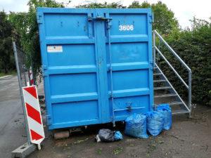 Grüngutcontainer in Memmelsdorf