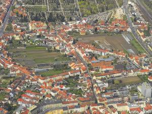 Luftbild Bamberger Gärtnerstadt (2017)
