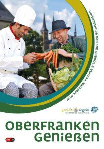 """Bucherscheinung """"Oberfranken genießen"""" - Buchcover"""