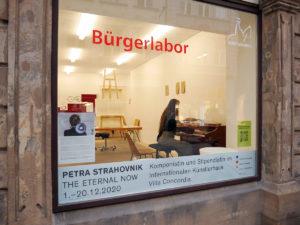 Komponistin Petra Strahovnik live im Bürgerlabor