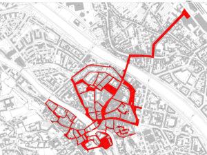 Geltungsbereich der städtischen Allgemeinverfügung (gültig bis 31.01.2021)
