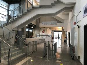 Rundgang Corona-Impfzentrum Bamberg