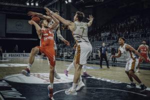 easyCredit BBL 20/21 - 14. Spieltag: Brose Bamberg vs. Basketball Löwen Braunschweig