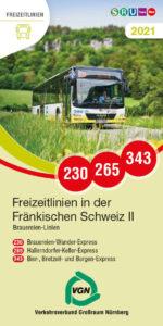 """VGN-Titelbild """"Freizeitlinien in der Fränischen Schweiz II"""""""