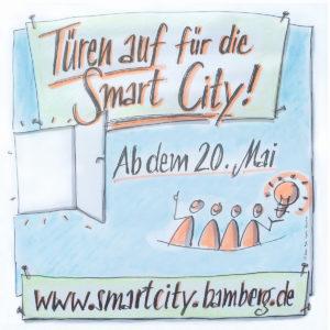 Banner Smart City Bamberg