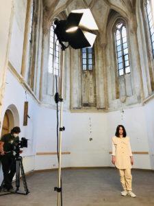 Hybrider UNESCO-Welterbetag: Probearbeiten in der ehemaligen Marienkapelle