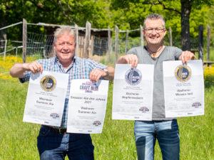Weiherer Summer Ale wird Session Ale des Jahres beim Meininger's Craft Beer Award