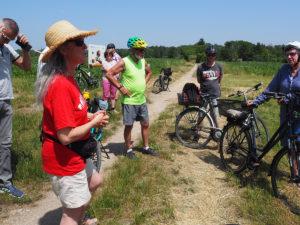 Radtour mit Bürgermeister Jonas Glüsenkamp durch das Wasserschutzgebiet