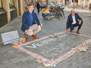 Straßenmalkreide-Aktion für Kinder