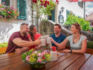 Fränkische Toskana: Gasthof Büttel in Geisfeld