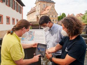 Flusspfad Bamberg digital