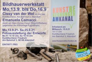 Kunstbegegnungen am Kanal - Programm2021