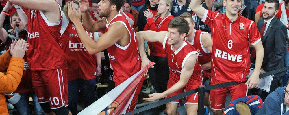 Brose Baskets holen ersten Top16-Sieg