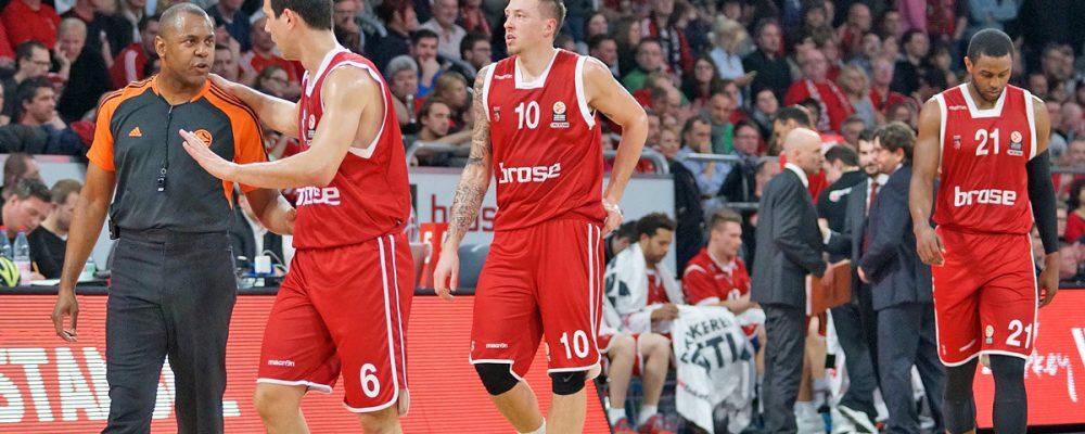 Brose Baskets wollen Mini-Siegchance nutzen