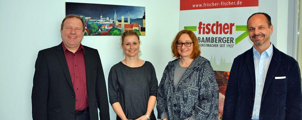Besuch Frau Dr. Widera und Frau Schrüfer bei der Anton Fischer Fleischwaren AG
