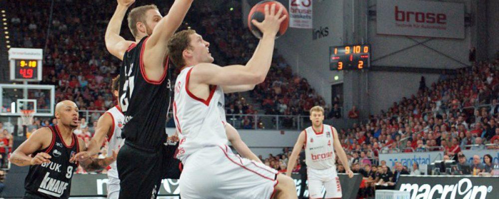 Brose Baskets auf dem Weg ins Halbfinale