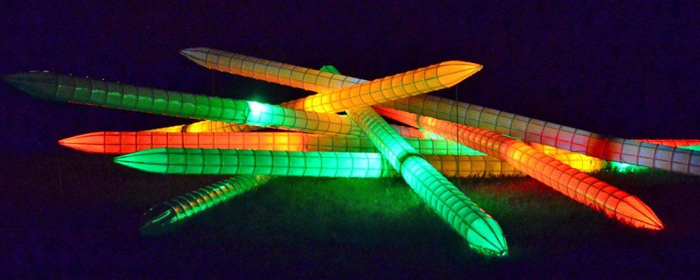 Kronach leuchtete vom 29. April bis 8. Mai