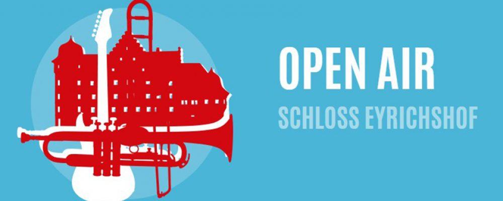 Auch im nächsten Jahr. Schloss Eyrichshof Open Air.