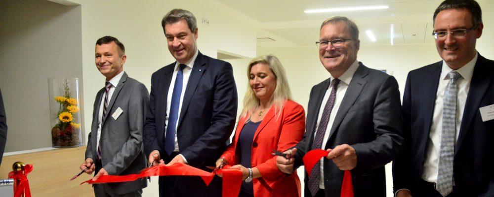 Vierter Bettenturm am Bamberger Klinikum eingeweiht